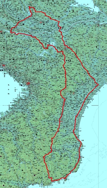 2014勝浦ツーリング map